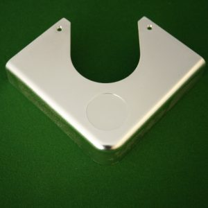 Pool table plastic corner