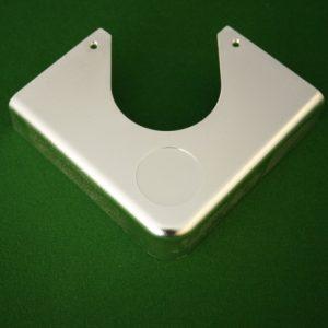 Pool table plastic corner